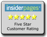 Tempe AC repair service reviewed 5 stars on Insiderpages.
