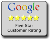 5 star reviewed by google users