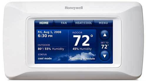 Desert Comfort Mechanical carries the new honeywell prestige HD thermostat.