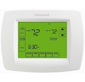 honeywell vision pro 8000 touchsceen programmable digital thermostat